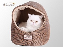 Armarkat Cat Bed, Bronzing and Beige - $41.87