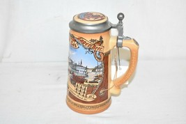 Anheuser-Busch Budweiser Beer Stein Classic Collection 1991 St. Louis Riverfront - $24.49