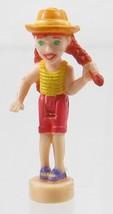 1998 Vintage Polly Pocket Doll Action ark Canoe Fun - Mia - $6.00