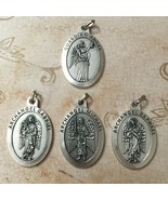 Set of 4 Guardian Angel Archangel Michael Raphael Gabriel Protection Medal - $19.99