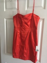 Short Red Dress Forever 21 Size M Medium Polyester Cotton NWT - $13.55