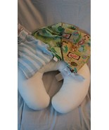 Boppy Pillow, One Plush and Two Poly Cotton Cover - Nursing Pillow and C... - $18.89