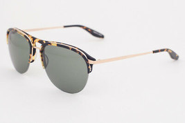 Barton Perreira HEIST Gold Tortoise / Green Sunglasses HEC GOL BTG - $106.82