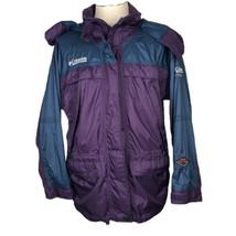 Womens Columbia Titanium Omnitech Jacket Coat Waterproof Hood Size M Ski... - $48.46