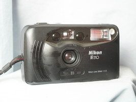 Nikon AF 210 Point And Shoot Quality 35mm Compact Camera c/w Nikon 32mm ... - $25.00