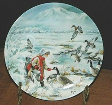 """1990 KNowles  """"Sharing"""" Collector Plate No.16855-A By Mimi Jobe Plate - $13.07"""
