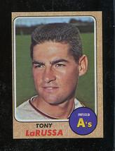 1968 Topps Hi #571 Tony LaRussa NRMT+ O/C A's *26061* - $5.83