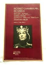Ahmanson Theatre LA Playbill Richard Chamberlain Richard II Window Card ... - $33.24