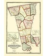 Rochester Massachusetts - Walling 1856 - 23.00 x 33.46 - $36.58+