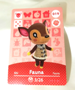 019 - Fauna - Series 1 animal crossing amiibo card - $29.99