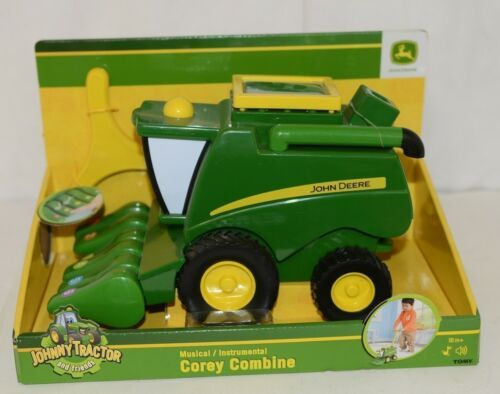 John Deere LP53335 Corey Combine Musical Toy With Song Book 18 Months
