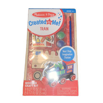 Melissa & Doug Decorate-Your-Own Wooden Train Craft Kit from Little Folks - $10.79