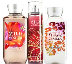Bath & Body Works Wild Madagascar Vanilla Trio Gift Set  - $45.95