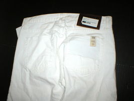 New NWT 30 x 34 Mens Designer Spurr Pipe Jeans USA White Logo Belt Patch Slim image 4