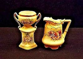 Pitcher and Chalice. AB 143 Vintage Czechoslovakia/Austria image 3