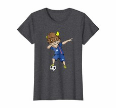Sport Shirts - Dabbing Soccer Boy Iceland Jersey T-Shirt - Number 14 Tee... - $19.95+