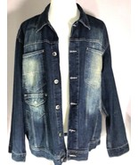 Southpole Denim Jacket Size Large 100% Cotton - $54.95