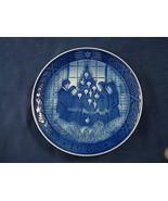 1983 Royal Copenhagen RC Danish Porcelain Christmas Plate MERRY CHRISTMAS - $25.00