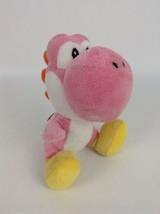 "Official Nintendo Super Mario Bros Pink Yoshi 6.5"" Plush Stuffed Toy  - $13.81"