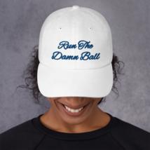 Run The Damn Ball Hat // Run The Damn Ball / Dad Hat image 3