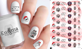 The Nightmare Before Christmas - Santa Jack Nail Decals (Set of 49) - $4.95