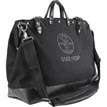 Klein Tools 510218SPBLK Tool Bag, Large 18-Inch Deluxe  Canvas Tool Bag and Orga - $96.99