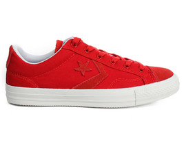 NEW CONVERSE Star Player Ox Red/White Canvas Trainers 142169C (Size 11.5) - $39.95