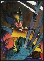 Dave De Vries Signed 1995 Fleer Ultra X-Men Art Card Wolverine Hunters Stalkers - $14.84