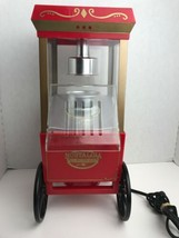 Old Fashioned Mini Electric Popcorn Maker Machine Air Pop Corn Trolly Re... - $25.69