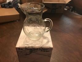 NIB Wedgwood Small Flower Cut Water Pitcher - $21.38