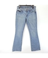 American Eagle Women's Hipster Skinny Flare Distressed AE 4 Regular Jeans - $12.19