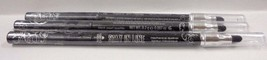 3 pcs HARD CANDY STAY IN LINE MECHANICAL EYE LINER 398 BLACK PEARL PENCIL - $8.61