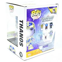 "Funko Pop! Marvel Thanos 6"" Entertainment Earth Glow in Dark Exclusive Figure image 3"