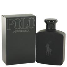 Polo Double Black by Ralph Lauren Eau De Toilette Spray 4.2 oz (Men) - $76.85