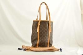 LOUIS VUITTON Monogram Bucket GM Shoulder Bag M42236 Auth 9769 No sticky - $480.00