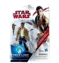 Star Wars Finn Resistance Fighter Force Link Action Figure Sealed Toy - $7.99