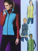 Butterick Sewing Pattern 5957 Ladies Misses Vest Size 14-22 New - $15.44