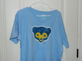 Team Chicago Cubs MLB Majestic Threads Blue TShirt Size Large New with Tags - $14.20