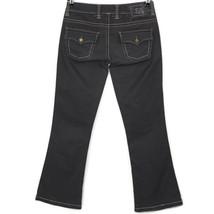 Twill Twenty Two Womens Bootcut Jeans Pants Grey Size 30 x 31 Stretch - $39.55