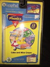 LeapFrog LeapPad Cake and Mice Cream Phonics Program Lesson 6 New Sealed - $7.99