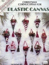 Christmas Cornucopias For Plastic Canvas 10 Designs PATTERN/INSTRUCTIONS... - $6.27