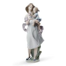 Lladro Porcelain Retired 01008715 Look Mommy! New Box 8715 Motherhood girl bird - $696.25