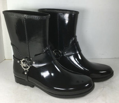 Michael Kors Womens Black Rain Ankle Boots US 10 M - $96.02