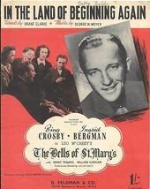 Bing Crosby The Bells of St Mary - vintage sheet music (Ingrid Bergman) - $7.58