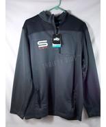 Vola Sportswear S LAX Athletic Quantum 1/4 Zip Pullover Gray Mens XL X-L... - $26.72