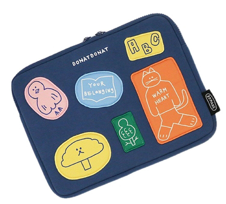 Romane DONATDONAT Friends iPad Case Pouch Bag Protector Cover 11-inch