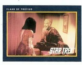 Star Trek card #187 Elaan of Troyius - $3.00