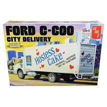 Skill 3 Model Kit Ford C-600 City Delivery Truck Hostess 1/25 Scale Mode... - $83.15