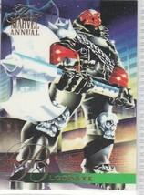 N) 1995 Flair Marvel Annual Comics Trading Card Thunder Strike #112 - $1.97