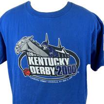 Vintage Kentucky Derby T Shirt 2000 Churchill Downs Louisville 90s XL (B... - $19.99